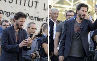 Keanu Reeves, aşa cum nu l-ai mai văzut: 21 de imagini inedite cu cel mai cool tip de la Hollywood