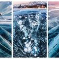 15 imagini fascinante cu lacul Baikal sub gheață