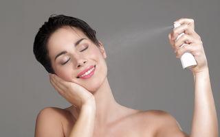 Spray natural pentru fixarea machiajului. Cum să-l faci singură