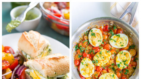Idei de cina cu oua
