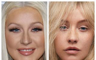 Adevărata faţă a vedetelor: Cum arată cele mai frumoase femei fără machiaj