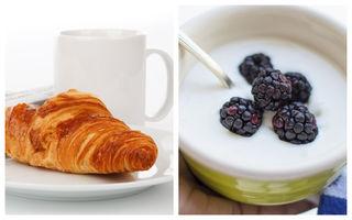 5 cele mai nesănătoase idei de mic dejun. Evită aceste greșeli dacă vrei să slăbești!