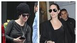 Negru pe linie: Iubita lui Brad Pitt are acelaşi stil ca Angelina Jolie
