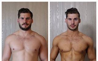 Transformarea uimitoare a unui tip ambiţios: În 12 săptămâni a devenit alt om
