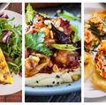 6 idei de cină vegetariană