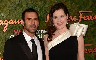 Geena Davis, din nou singură: Al patrulea soţ cere divorţul