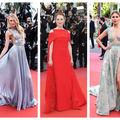 Ce ținute au purtat vedetele în prima zi a Festivalului de Film de la Cannes