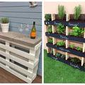 12 moduri geniale în care să folosești paleții din lemn în grădina ta