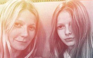 Găsiţi diferenţele! Gwyneth Paltrow seamănă leit cu fiica ei