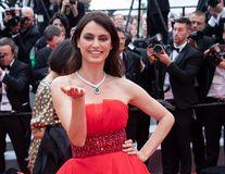 Catrinel Menghia, apariţie superbă la Cannes
