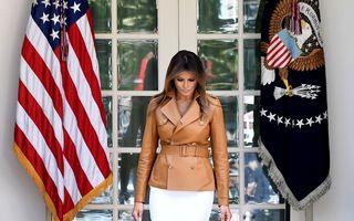 Melania Trump, operată la rinichi