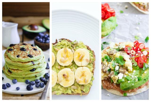 mic dejun cu avocado