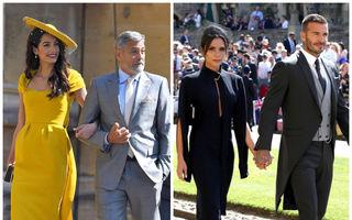 Ce ținute au ales vedetele pentru nunta Prințului Harry cu Meghan Markle