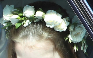 Prinţesa Charlotte a atras toate privirile la nunta regală. E adorabilă!