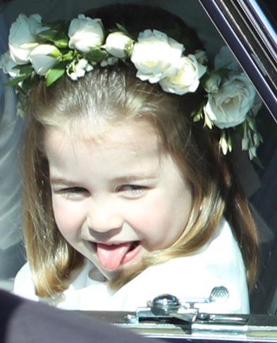 Prinţesa Charlotte A Atras Toate Privirile La Nunta Regală E