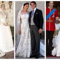 Cele mai frumoase rochii de mireasă purtate la nunțile regale
