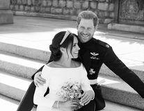 Meghan Markle şi Prinţul Harry au publicat trei imagini oficiale de la nunta lor