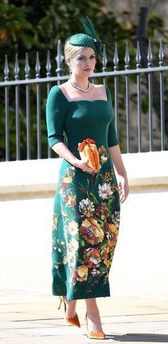 Frumoasa Kitty Spencer Surpriza De La Nunta Regală Cum A Reuşit