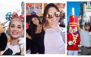 20 de vedete care nu se mai satură de Disneyland