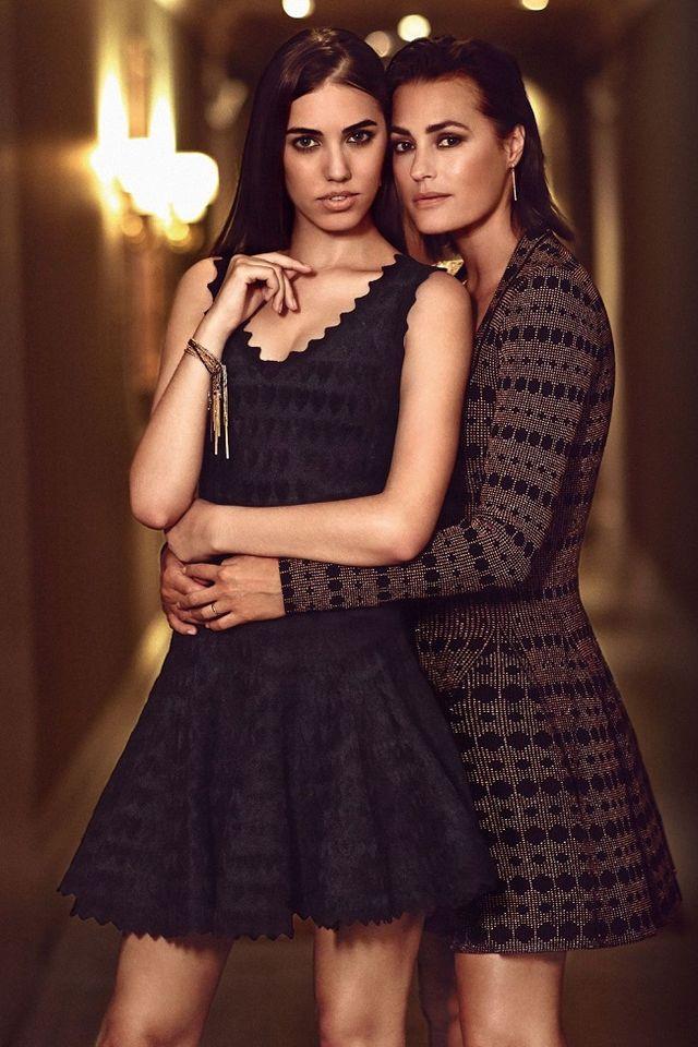 Amber şi Yasmin Le Bon