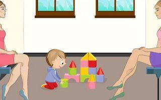Test de personalitate. Cine este adevărata mamă a copilului din imagine?