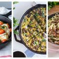 5 idei de cină rapidă la tigaie