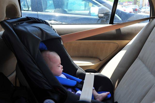 copil maşină
