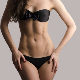exercitii abdomen plat