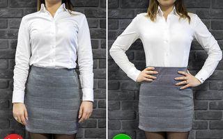 Cureaua specială care opreşte cămaşa să iasă din pantaloni te ajută să arăţi impecabil