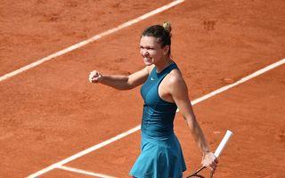 Simona Halep s-a calificat a treia oară în finala de la Roland Garros