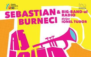Seară de vară cu JAZZ la Sala Radio: trompetistul SEBASTIAN BURNECI și BIG BAND-UL RADIO
