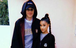 Ariana Grande şi actorul Pete Davidson s-au logodit după o relaţie de câteva săptămâni