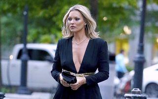 Kate Moss, în rochia mini care a stârnit invidia între designeri: Stefano Gabbana a avut un singur cuvânt de spus