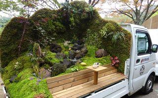 Grădina din remorcă: În Japonia au înflorit camionetele!