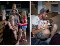 Ce înseamnă să fii tată? Cele mai amuzante fotografii din viaţa de familie