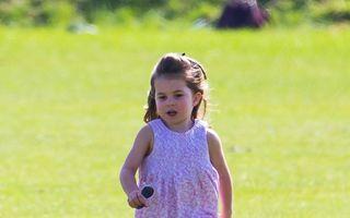 Mica fashionistă: Prinţesa Charlotte e obsedată de modă, la 3 ani