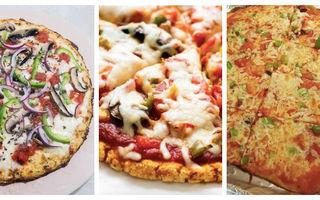 5 idei de pizza care nu îngrașă. Cele mai bune combinații sărace în carbohidrați