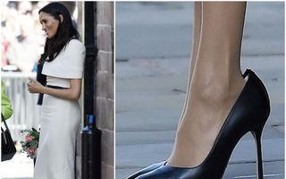 De ce poartă Meghan Markle de fiecare dată pantofi cu un număr mai mare