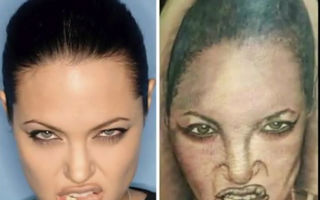 20 de tatuaje cu portrete total nereuşite. Vei râde în hohote!