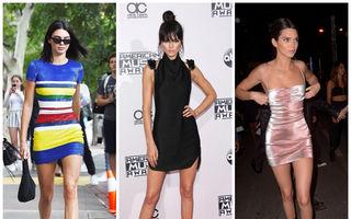 Kendall Jenner, regina rochiilor mini: 20 cele mai sexy ținute purtate de vedetă