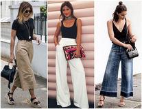 Cum să porți pantalonii largi în funcție de forma corpului tău
