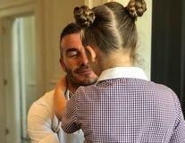 David Beckham, un tătic cum şi-ar dori orice femeie: Imaginea pe care Victoria Beckham a postat-o pe Instagram