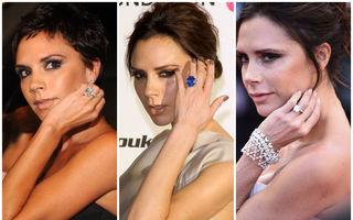 Victoria Beckham are 14 inele de logodnă. Cum arată bijuteriile în valoare de milioane de euro