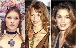 10 supermodele care au dominat anii '90