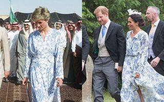12 ținute purtate de Meghan Markle care amintesc perfect de Prințesa Diana