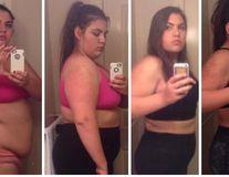 Transformarea ireală a unei femei: Avea 142 de kilograme când a început să slăbească