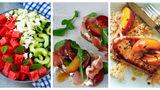 10 idei de cină ușoară de vară