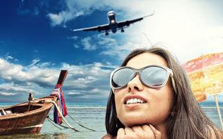 Transformă fiecare călătorie cu avionul, într-un zbor la First Class