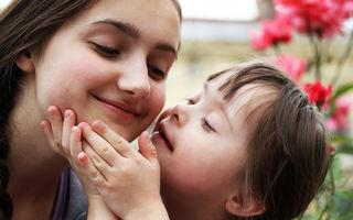 Copiii cu Sindromul Down sunt o bucurie!