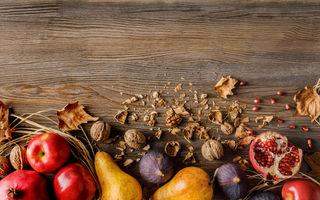 5 fructe și legume sănătoase pe care trebuie să le consumi în această toamnă